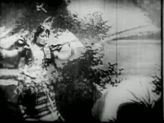 FATIMA'S COOCH DANCE 1894 CHICAGO WORLDS FAIR Stock Footage