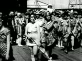Stock Video Footage of BATHING BEAUTY CONTEST AT CONEY ISLAND CIRCA 1910 2