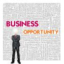 Business word cloud for business and finance concept, business opportunity Stock Illustration