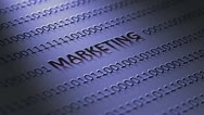 Marketing concept Stock Footage
