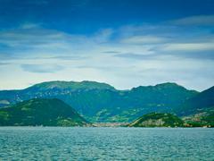 Iseo järvi Kuvituskuvat