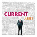 Stock Illustration of business word cloud for business and finance concept, current asset