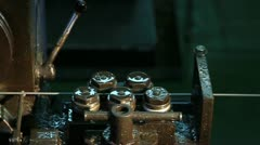 Rivets Machine 20 - stock footage