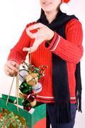 seasonal decorations - stock photo