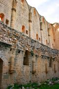 bellapais abbey - stock photo