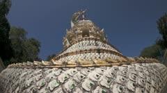 Thai temple Stock Footage