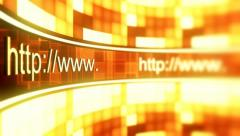 Http access web pages 1 Stock Footage