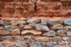 Bricks and stones - stock photo