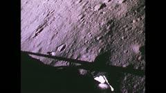 Stock Video Footage of Moon Landing Apollo 12