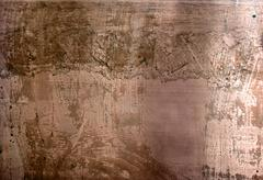 High resolution distressed copper surface Stock Photos