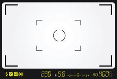Stock Illustration of camera viewfinder