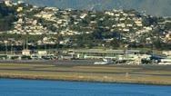 Wellington airport 01 Stock Footage