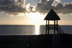 Sunset Cancunissa Kuvituskuvat