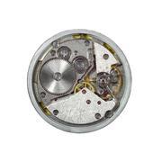 clockwork closeup - stock photo