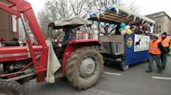 Rosenmontag Karneval Carnival Düsseldorf Germany Stock Footage