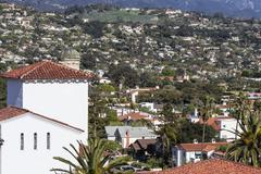 santa barbara california - stock photo