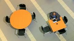 Male Female Business People Group Meetings Stock Footage