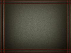 black leather background with stitched red frame - stock illustration