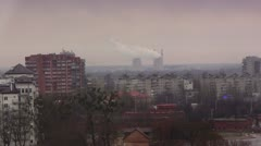 Kaliningrad Skyline 2 - stock footage