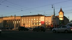 Kaliningrad Main Square - stock footage