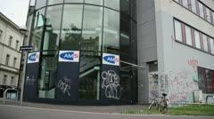 Austrian AMS in Vienna (Tilt) Stock Footage