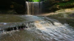 Starved Rock State Park - Illinois Stock Footage