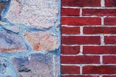 Stones and bricks - stock photo