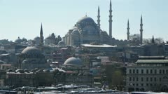 Istanbul city, Turkey - stock footage