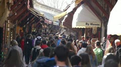 Grand Bazaar, Istanbul Turkey Stock Footage