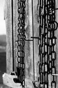 Stock Photo of chains hanging