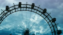 Stock Video Footage of Prater Riesenrad (great ferris wheel)