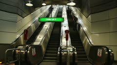 Subway Station Schottenring Stock Footage