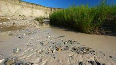 Sage Creek Badlands National Park Stock Footage