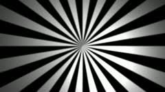 Center sun rays with alpha Stock Footage