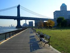 empire-fulton ferry state park - stock photo