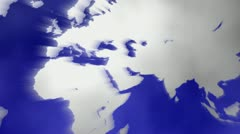World motion pull back Stock Footage