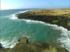 Green Sands Beach Stock Footage