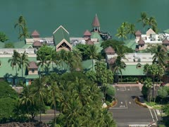 Waikoloa Beach and Golf Resort Stock Footage