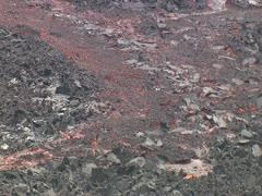 Glowing Lava on Mauna Loa Stock Footage