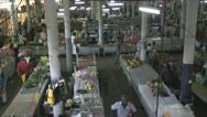 Stock Video Footage of Suriname, market in Paramaribo