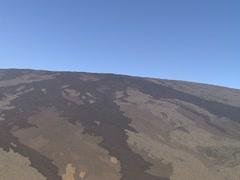 Mauna Loa Historic Lava Flows Stock Footage