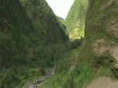 Stock Video Footage of Pololu Valley, Hamakua Coast