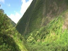 Pololu Valley, Hamakua Coast Stock Footage