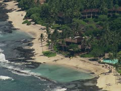 Four Seasons Resort and Golf Course Stock Footage