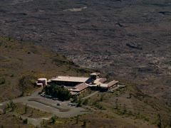 Halema_uma_u Crater in Hawaii Volcanoes National Park Stock Footage