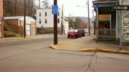 Stock Video Footage of Rundown Urban/Suburban Street