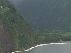 Waipio Valley Stock Footage
