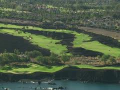 Mauna Lani Resort Golf Course Stock Footage