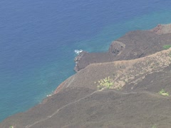 Ka'u Coastline Stock Footage