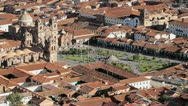 Stock Video Footage of Cusco city center